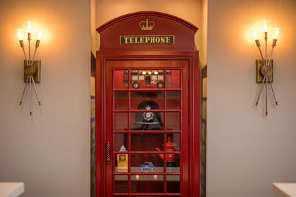 Front Desk Telephone Booth | Best Western Plus Cameron's Inn