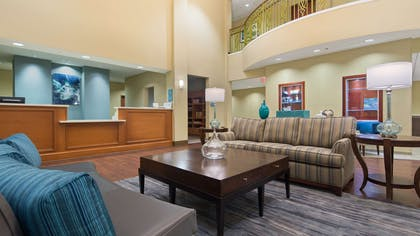 Lobby   Best Western Plus Tuscumbia Muscle Shoals Hotel and Suites