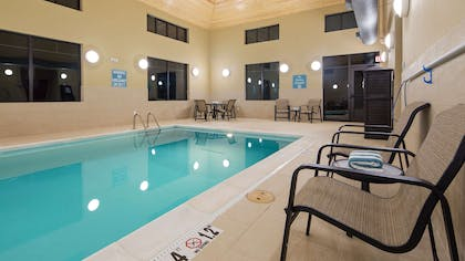 Indoor Heated Pool   Best Western Plus Tuscumbia Muscle Shoals Hotel and Suites