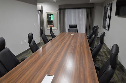 Our 11 person conference room is the perfect spot for your business meeting. | Best Western Plus Bay City Inn & Suites