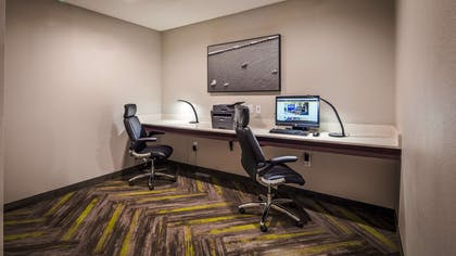 Our business center features a free printer for you to use. | Best Western Plus Bay City Inn & Suites