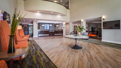 The moment you step into our wonderful lobby, you'll feel like part of our family. Stay with people who care. | Best Western Plus Bay City Inn & Suites