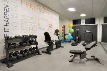 Fitness Room with Yoga studio | Best Western Plus Peppertree Nampa Civic Center Inn
