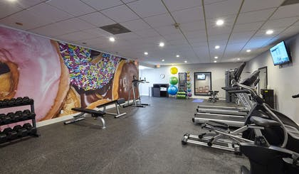 Fitness Center | Best Western Plus University Inn