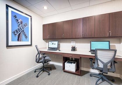 Business Center | Hampton Inn Boston - Westborough