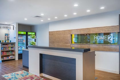 Reception   Home2 Suites by Hilton Bowling Green
