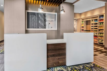 Reception | Hampton Inn & Suites Los Angeles/Hollywood