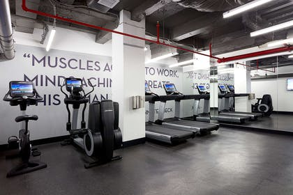 Health club fitness center gym | The Renwick Hotel New York City, Curio Collection by Hilton