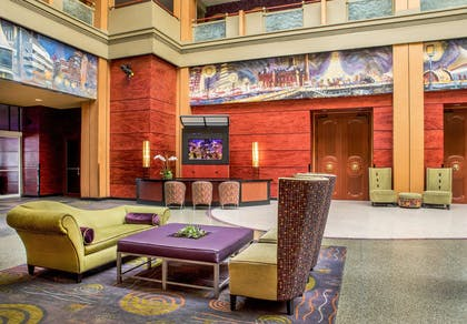 Lobby | Pier 5 Hotel Baltimore, Curio Collection by Hilton