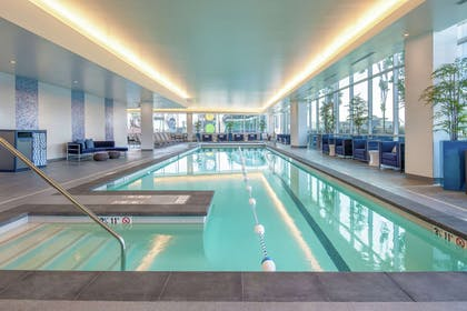 Pool   Embassy Suites by Hilton Seattle Downtown Pioneer Square