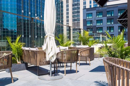 sky terrace | Ivy Boutique Hotel