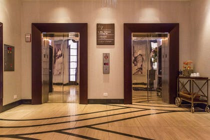 lobby elevators | Ivy Boutique Hotel