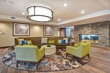 Lobby | Homewood Suites by Hilton Pleasant Hill Concord