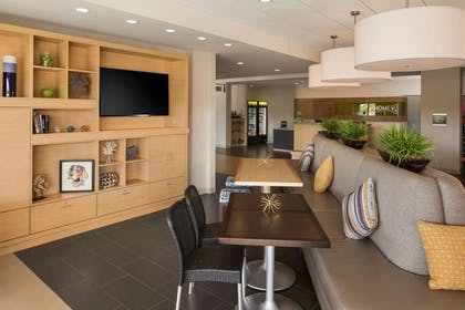 Lobby | Home2 Suites by Hilton Mishawaka South Bend, IN