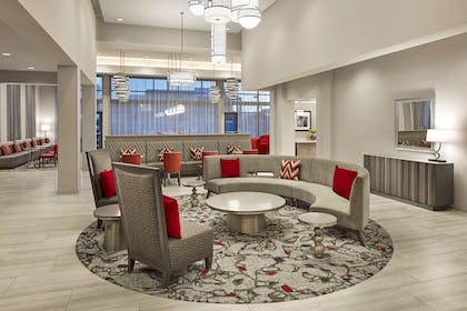 Lobby | Homewood Suites by Hilton Long Beach Airport
