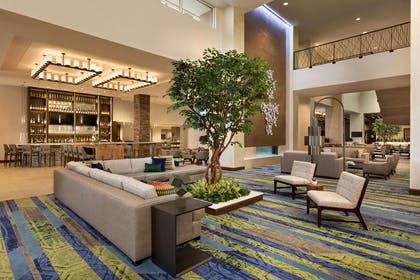 Lobby   Embassy Suites by Hilton Denton Convention Center