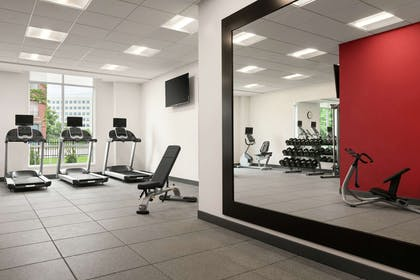 Health club fitness center gym | Homewood Suites By Hilton Worcester