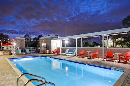 Pool | Home2 Suites by Hilton Tampa USF Near Busch Gardens