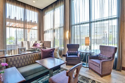 Lobby | Homewood Suites by Hilton New Hartford Utica