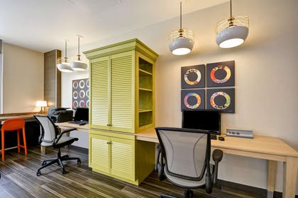 Business Center | Home2 Suites by Hilton Dallas Downtown at Baylor Scott & White