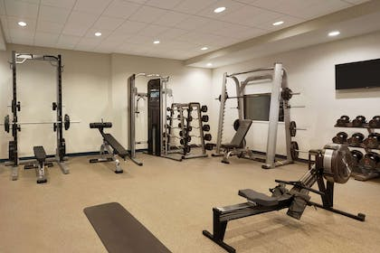 Health club fitness center gym | Home2 Suites by Hilton Leavenworth Downtown