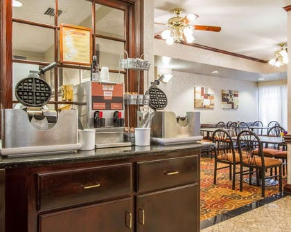 Free breakfast with waffles | Comfort Suites Mobile East Bay