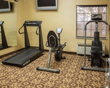 Fitness center with television | Comfort Inn & Suites Trussville I-59 exit 141