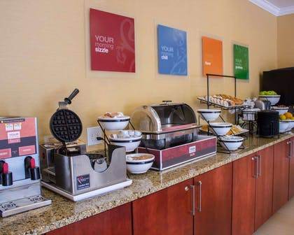 Breakfast counter | Comfort Inn & Suites Trussville I-59 exit 141