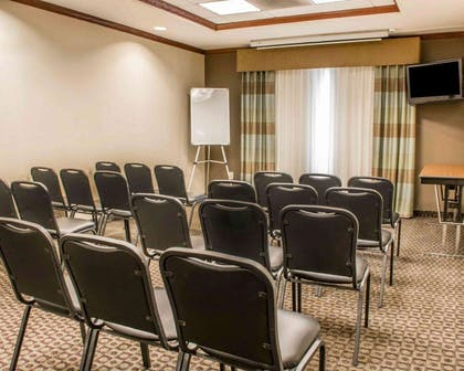 Large space perfect for corporate functions or training | Comfort Suites Huntsville Research Park Area