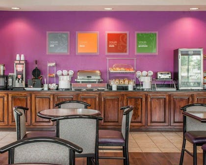 Free hot breakfast buffet | Comfort Suites Huntsville Research Park Area