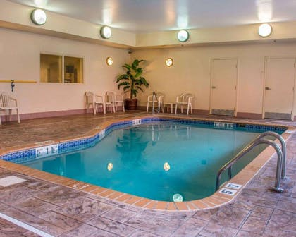 Indoor heated pool | Comfort Suites Huntsville Research Park Area