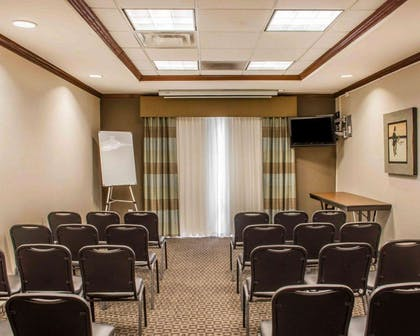 Meeting room entryway | Comfort Suites Huntsville Research Park Area