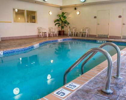 Indoor pool | Comfort Suites Huntsville Research Park Area