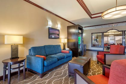 Hotel lobby | Comfort Suites Montgomery East Monticello Dr.