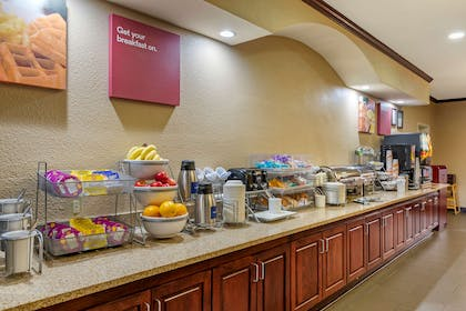 Breakfast counter | Comfort Suites Montgomery East Monticello Dr.