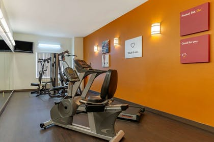 Exercise room with cardio equipment | Comfort Suites Montgomery East Monticello Dr.