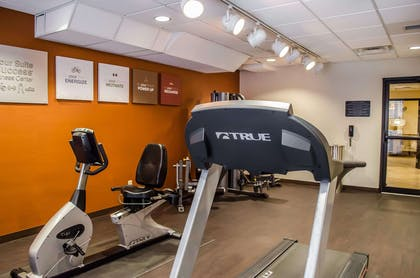 Exercise room | Comfort Suites North Mobile