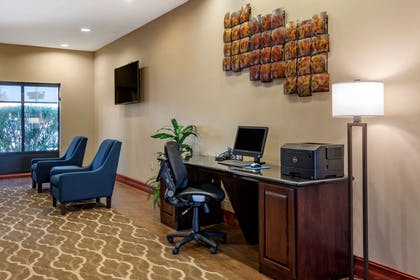 Computer in business center   Comfort Suites Airport South