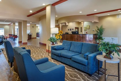 Hotel lobby   Comfort Suites Airport South