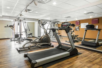 Exercise room with cardio equipment | Comfort Suites Cullman I-65 Exit 310