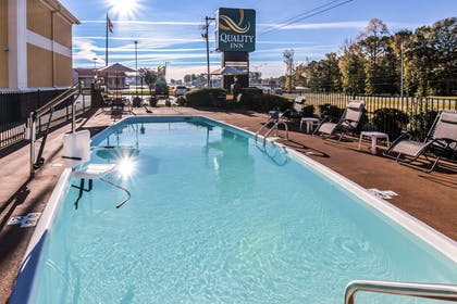 Relax by the pool   Quality Inn Alexander City