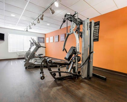 Fitness center with cardio equipment | Comfort Suites Pell City I-20 exit 158