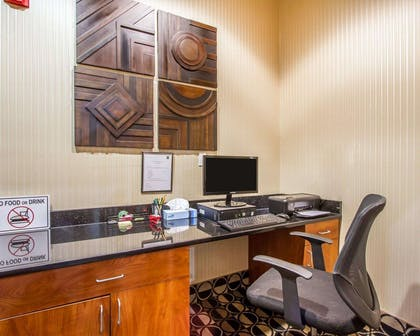 Business center with free wireless Internet access | Quality Inn & Suites Greenville I-65