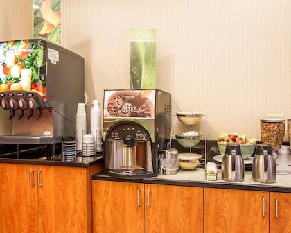 Assorted breakfast items | Quality Inn & Suites Greenville I-65