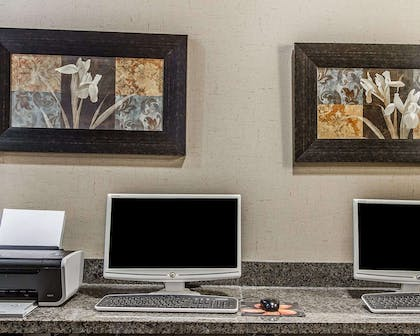 Business center with free wireless Internet access | Comfort Inn & Suites Scottsboro Highway 72 East