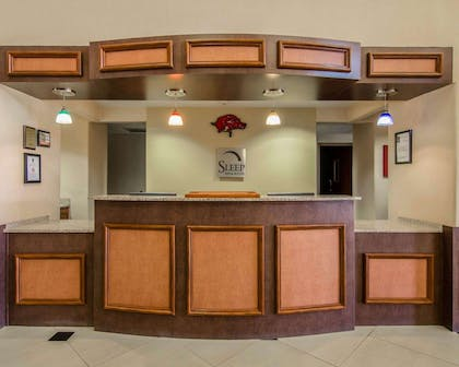 Front desk | Sleep Inn & Suites Springdale West