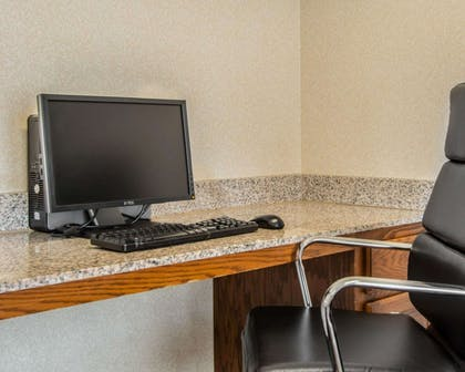 Business center with high-speed Internet access | Sleep Inn & Suites Springdale West
