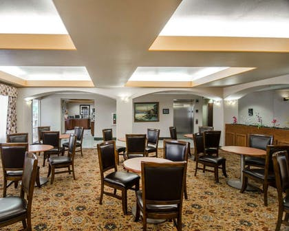 Breakfast area in the lobby | Sleep Inn & Suites Springdale West