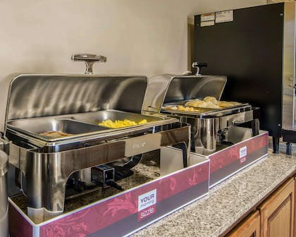 Hot and cold breakfast buffet | Sleep Inn & Suites Springdale West