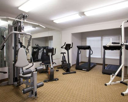 Exercise room | Quality Inn & Suites I-40 East